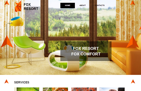 Fox Resort templated by pickaweb.co.uk