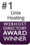 #1 Unix Hosting